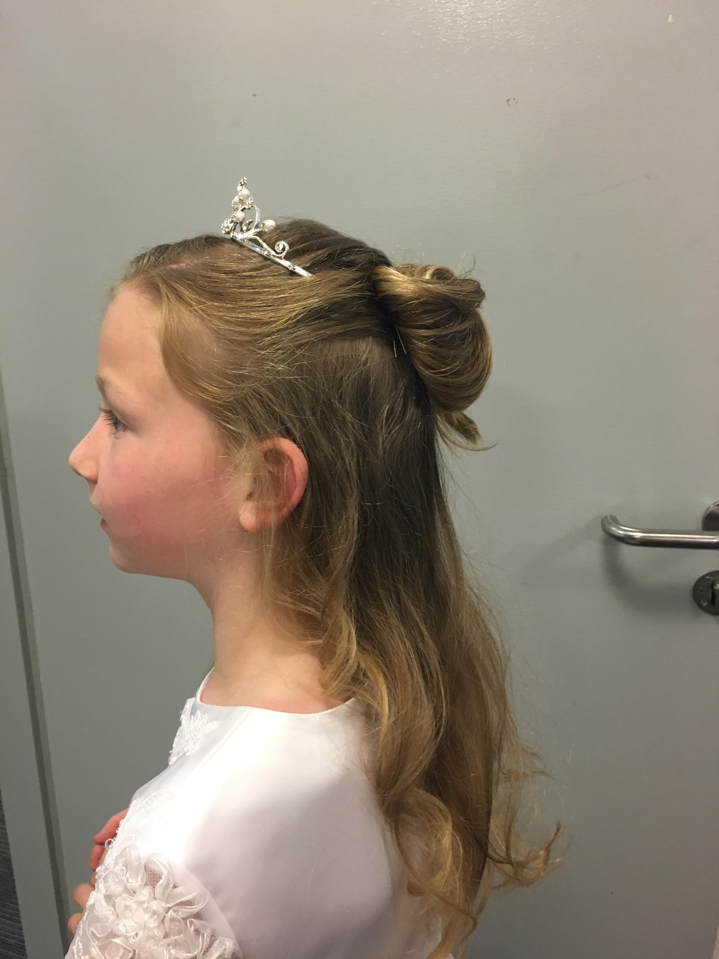 Communion Hairstyles Step By Step Tori Keane